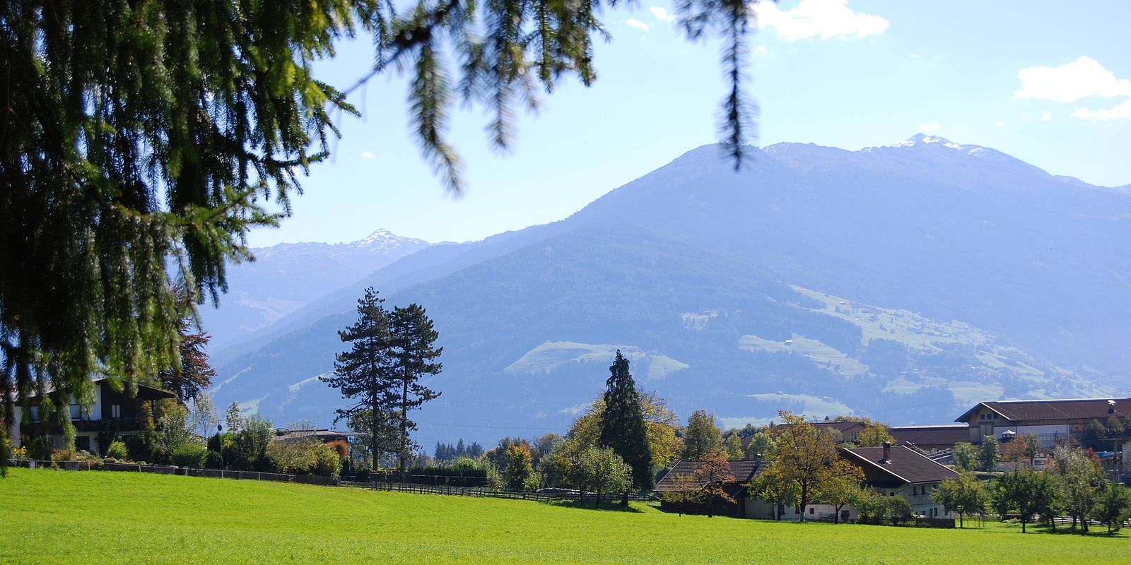 Landschaft Gnadenwald